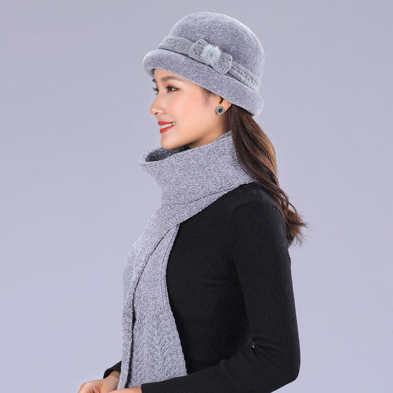 SUOGRY Rabbit Cashmere Knitted Winter Hat Women Mixed Color Thick Female   Skullies     Beanies   Warm Gravity Falls Cap Women's Hats