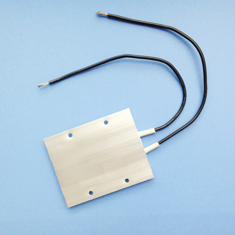 AC/DC 24V Max 150W Aluminum PTC Heating Element Thermostat Heater Plate 77 X 62 X 6mm