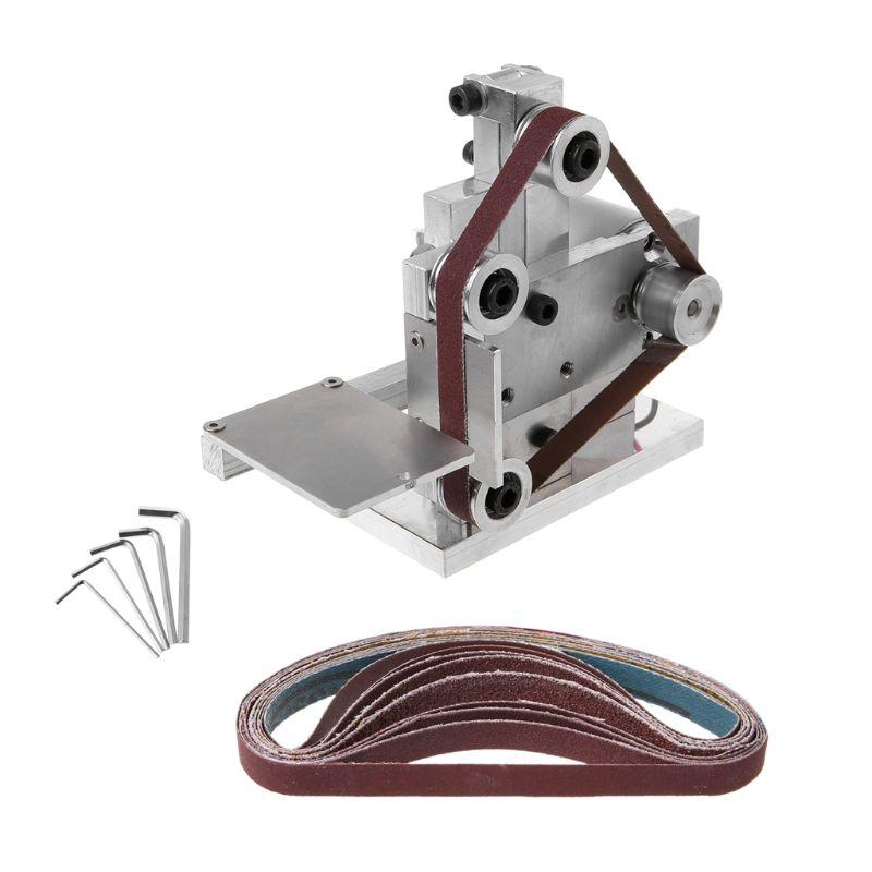 Mini Electric Belt Sander Grinder DIY Polishing Grinding Machine Cutter Edges Sharpener|Polishers| |  - title=