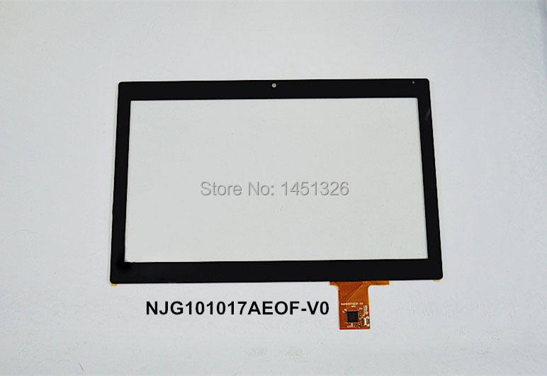 New touch screen panel digitizer for 10.1'' INCH NJG101017AEOF-V0  Tablet PC v0 b116xw03 v0 v 0 v 1 lp116wh2 m116nwr1 r0 ltn116at06 n116bge lb1 n116bge l42 lb1 new