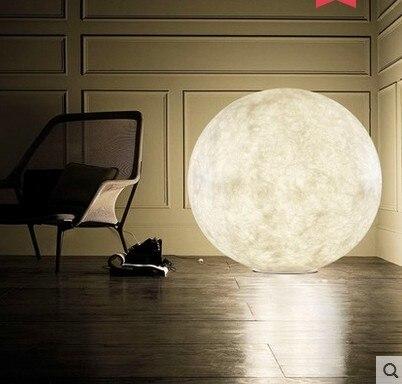 3D imprimir Luna lámpara de mesa 2 cambio de Color Interruptor táctil para dormitorio estantería Decoración Luz De noche regalo creativo - 3