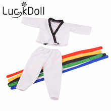 New Taekwondo clothes Fit 43cm New Baby Born Zapf free shipping(without shoes) N721