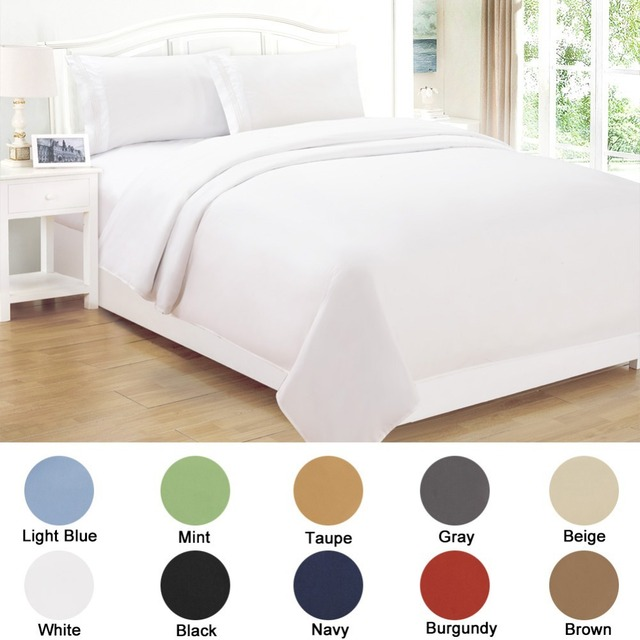 Home Collection Sheets Hotel Guest Linen Bed Sheet Sets Softest Microfiber White Best