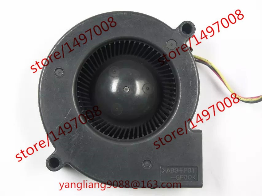 Emacro Servo E0720H24B8AS-35 DC 24V 0.16A  3-Pin  65mm  Server Blower  fan free shipping emacro sf7020h12 61as dc 12v 250ma 3 wire 3 pin connector 65mm6 server cooling blower fan