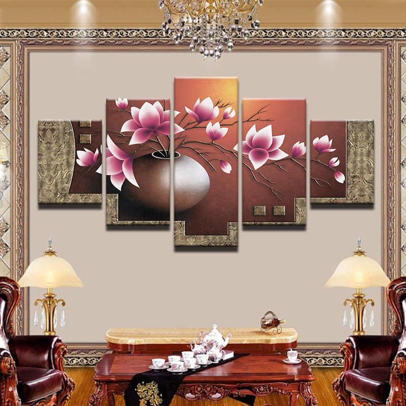 Wall Decor Canvas Living Dining Room