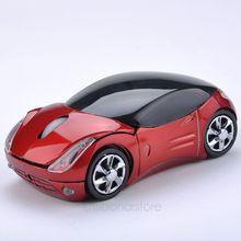 חדש USB 2.4GH עטלף Optique Voiture סגנון אלחוטי רכב USB2.0 עכבר אופטי למחשב נייד מחשב מחשב