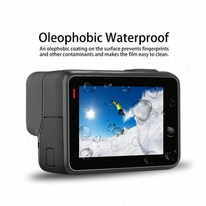 Image 2 - VSKEY 100PCS Vetro Temperato per GoPro hero 7 6 5 Schermo lcd Video/fotocamera Protector + Pellicola di Protezione per hero 5/6/7