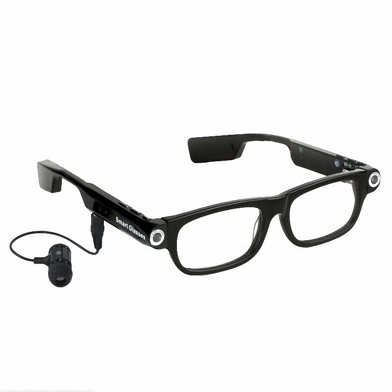 Glexal New High Quality Multi-functional Smart Glasses Camera High-definition Camera Suitable For Traffic Police Wear Men's Glasses
