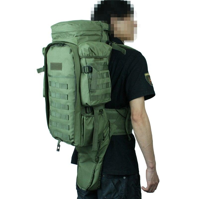 Tactique double mallette à fusil Airsoft pistolet sac à dos sac chasse tir Camping guerre jeu carré porter sacs sac pistolet accessoires