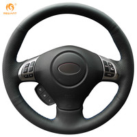 Subaru Forester 2008 2009 2010 2011 2012 Wheel Cover Car Special Hand Stitched Black Genuine Leather