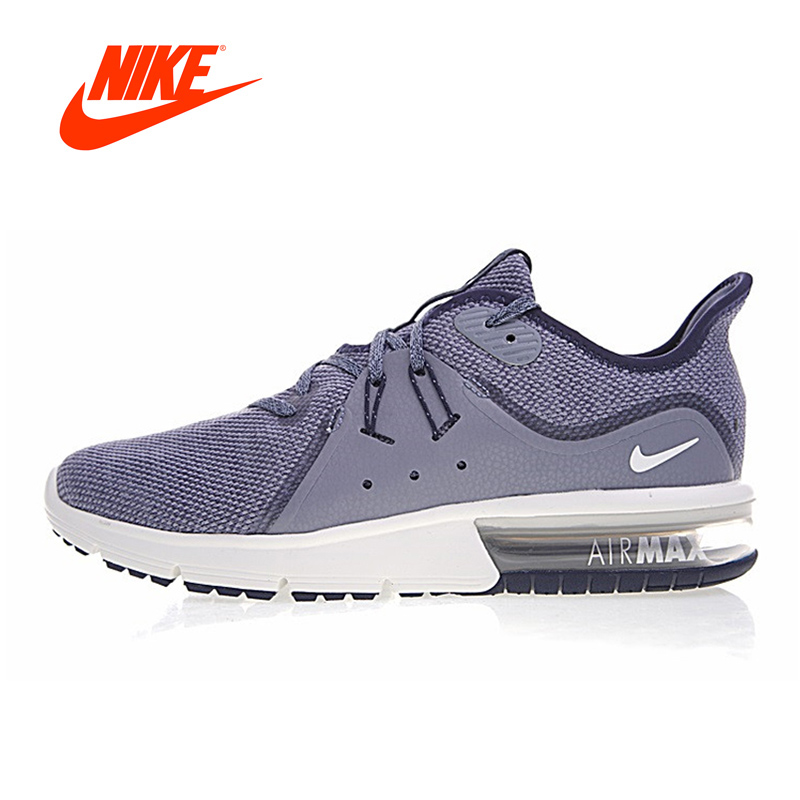 Original New Arrival Authentic NIKE AIR MAX SEQUENT Men's Running Shoes Sport Outdoor Sneakers Breathable 921694-009 921694-402 jw sport mg 009