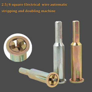 WHDZ 2.5/4 Square Universal Electrical Wire Fast Connector Electrical Cable Quick Connector Parallel Metal Drill Bit(China)