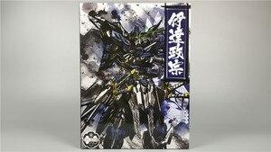Image 3 - COMIC CLUB IN LAGER Teufel Hunter DH01 Blau Krieger mb Datum Masamune GUNDAM VIDAR Legierung Rahmen action roboter figur spielzeug