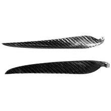 2 foglia In fibra di Carbonio pieghevole elica Per RC Airplane Puntelli modello ad ala Fissa modello di RC 9.5x5,10x6,11x6,11x8,12x6,13x7,13x8,14x8,