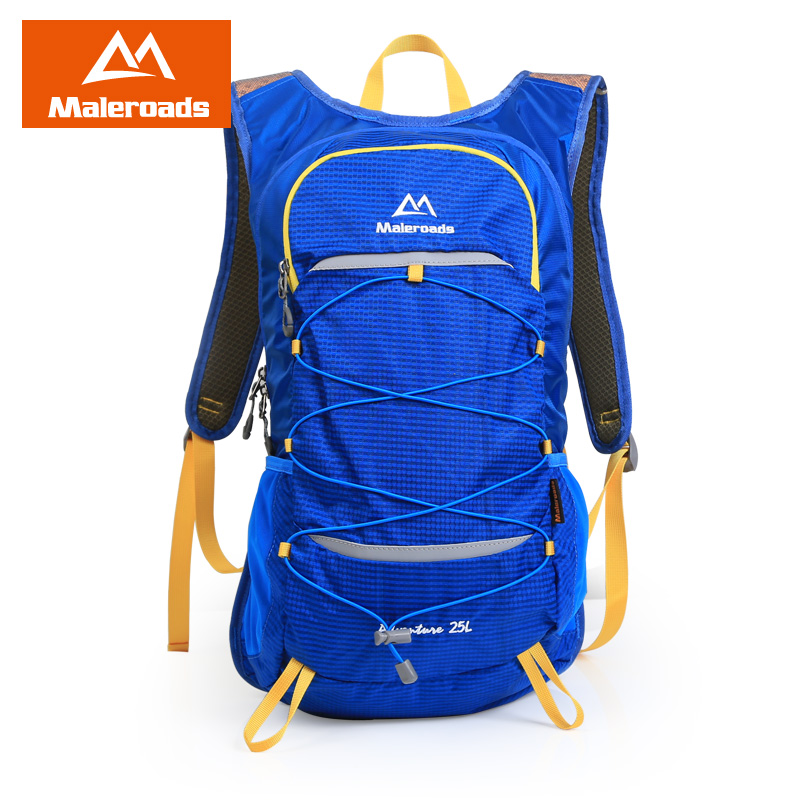 <font><b>Maleroads</b></font> Daypack Riding Backpack Daily Rucksack Travel Walking Camp Hike Trekking <font><b>Mochila</b></font> For College Student School Teenagers image