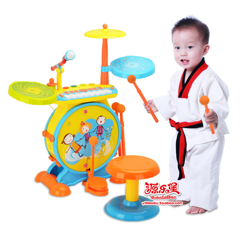 Children's drums beat instruments Professional Big jazz drum rack music early childhood educational toys Musical Instruments рама pearl dr 503 drum rack