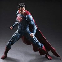 Play Arts Kai Figure Super Man Figure DC Figure Superman Clark Kent Batman SuperGIRL PA 25cm PVC Action Figure Doll Toys Gift