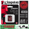 SALE Kingston memory sd card Class 3 UHS-I U3 SDHC SDXC HD video 128gb high speed 2K 4K video cartao de memoria tarjeta carte sd