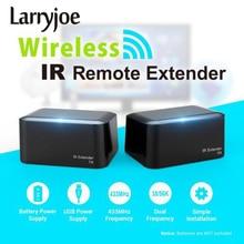 433MHz Wireless Remote Control IR Extender Repeater Transmitter Receiver Blaster Emitter for DVD DVR IPTV TV Box IR Adapter