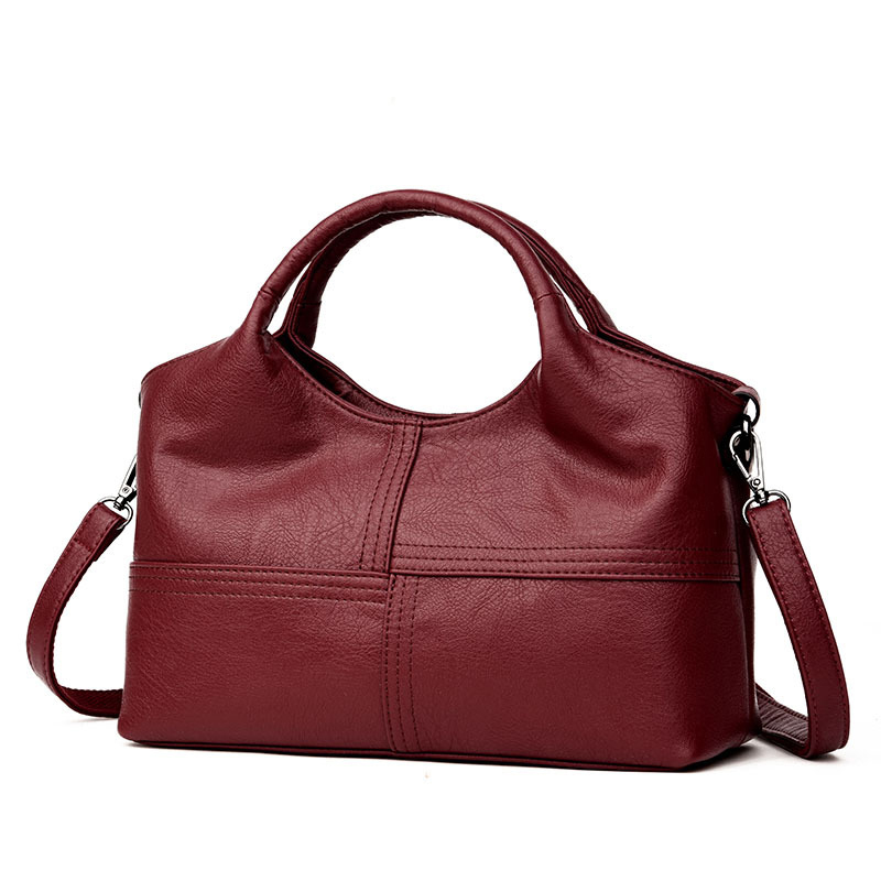 5168f64843 Fashion Patchwork Shoulder Bag Women Luxury Brand Designer Soft Sheepskin  Leather Crossbody Bag ...