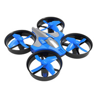 Mini 2 4G 4CH 6Axis Gyro Headless Altitude Hold LED Remote Control RC Quadcopter Night Flight