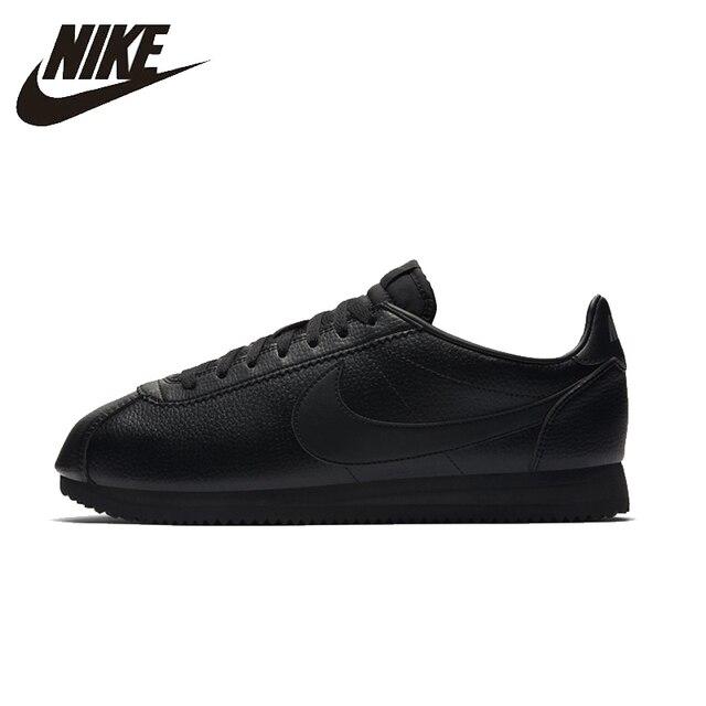 super popular 88824 d98e3 NIKE clásico de cuero CORTEZ Unisex corriendo zapatos calzado luz Super  cómodo zapatillas de deporte para