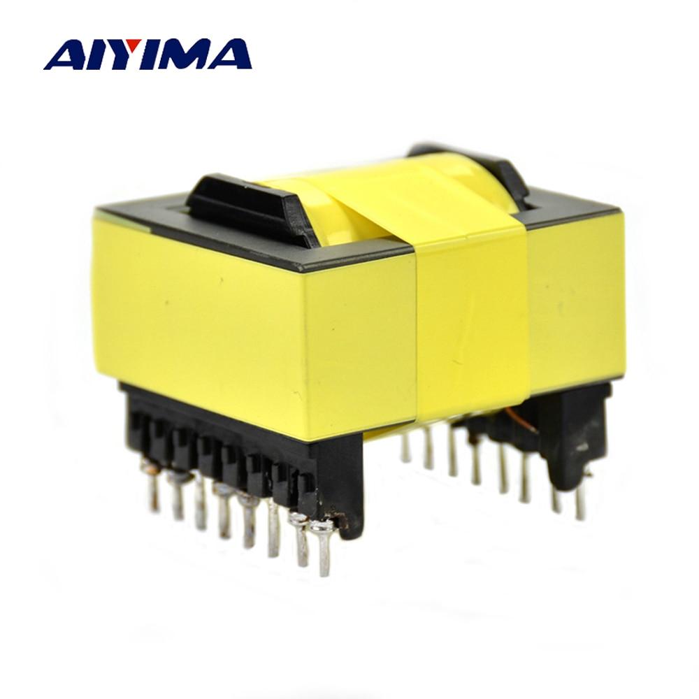 EC42 500W Pure cupper high-frequency transformer Dual input 12V to 0-220V-380V 18V  ballet dress little creative factory
