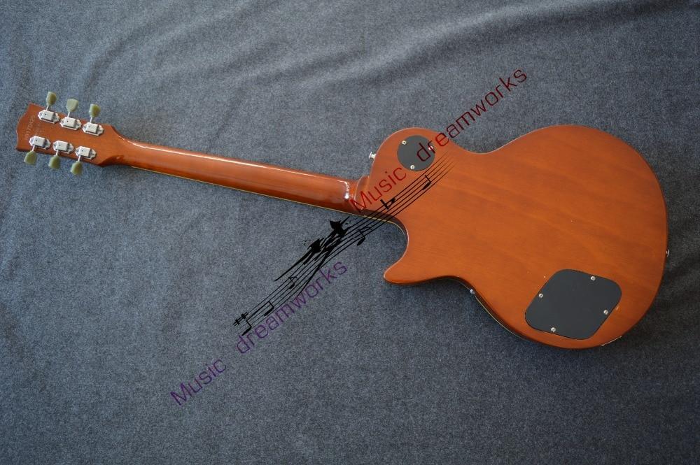firehawk OEM shop wholesale custom shop 1959 R9 tiger flame thermal electric guitar standard LP 59 electric guitar