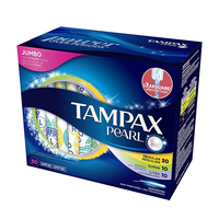 50 Pcs Unscented Tampax Catheter Tampons 3 Absorptions Set Menstrual Cup Sanitary Pad Absorvente Menstrual Smooth Antibacterial