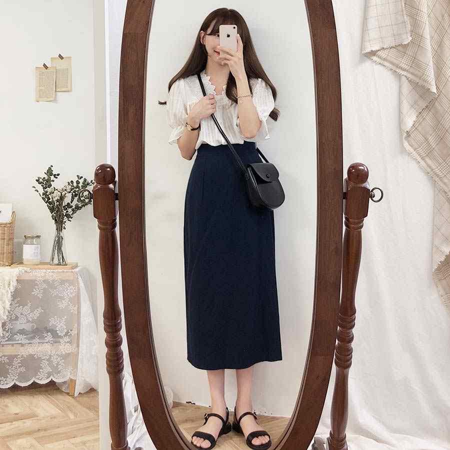 カジュアル女性半袖トップス刺繍レースシャツリネン綿女の子ブラウスプラスサイズ夏の女性のブラウス白ファム Blusas