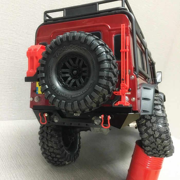2018 Alloy CNC Rear Bumper For Traxxas TRX4 TRX-4 Crawler Rc Upgrades Car  PARTS NEW