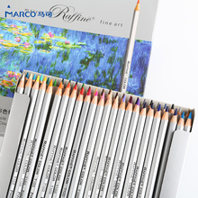 Marco color lead hand-painted 72 color oily color pencil mark 48 color painting set adult painting beginner art supplies
