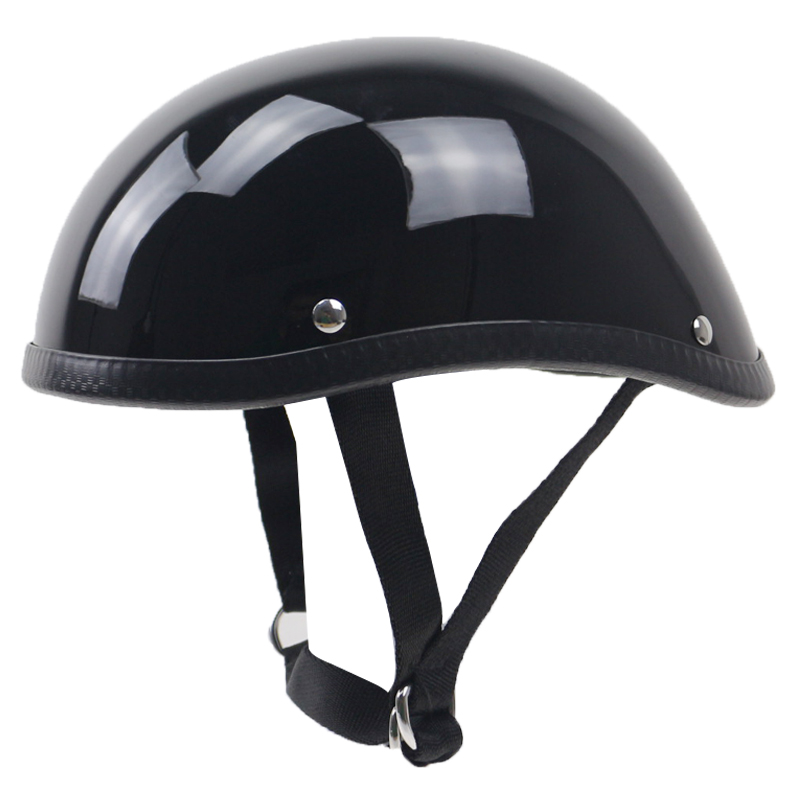 Volar peso ligero estilo motocicleta casco DIY Vintage bike moto casco fibra de vidrio shell DD anillo Japón TT & CO estilo