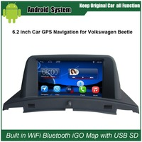 Car Sound For VW Beetle Car Stereo For VW Beetle Free Car DVR Rearview Camera 8G