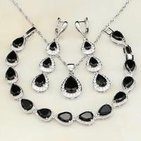 Trendy-Water-Drop-Black-Topaz-925-Sterling-Silver-Jewelry-Sets-For-Women-Wedding-Earrings-Pendant-Necklace.jpg_200x200
