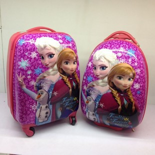 14 frozen backpacks children schoolbags kids trolley bags luggage EMS - Wangwang Zhu store