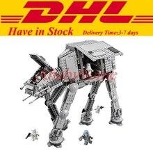 LEPIN 05051 Star War Series Force Awaken The AT-AT Transpotation Armored Robot Model Building Kit Blocks Toy Clone 75054