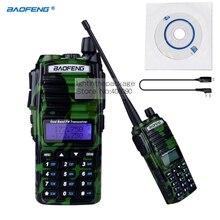 NKTECH USB Programming Cable & BAOFENG UV-82 Dual Band VHF UHF 136-174/400-520MHz FM Ham Two Way Radio Walkie Talkie Green