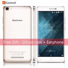 Blackview A8 Max Android 6.0 smartphone MT6737 Quad Core Mobile Téléphone 4G LTE 5.5 pouce 2 GB + 16 GB 8MP 3000 mAh cellulaire téléphone