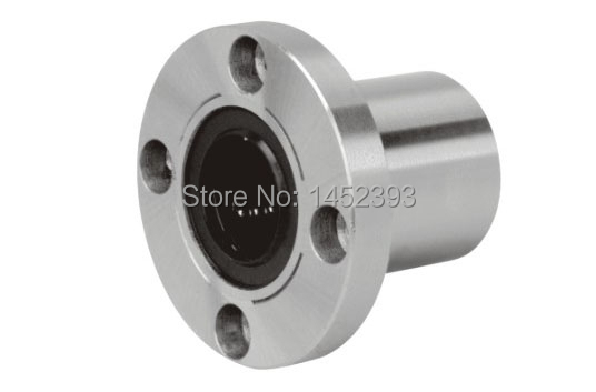Lmf6uu 6mm Round Flange Linear Ball Bearing Bushing For 6