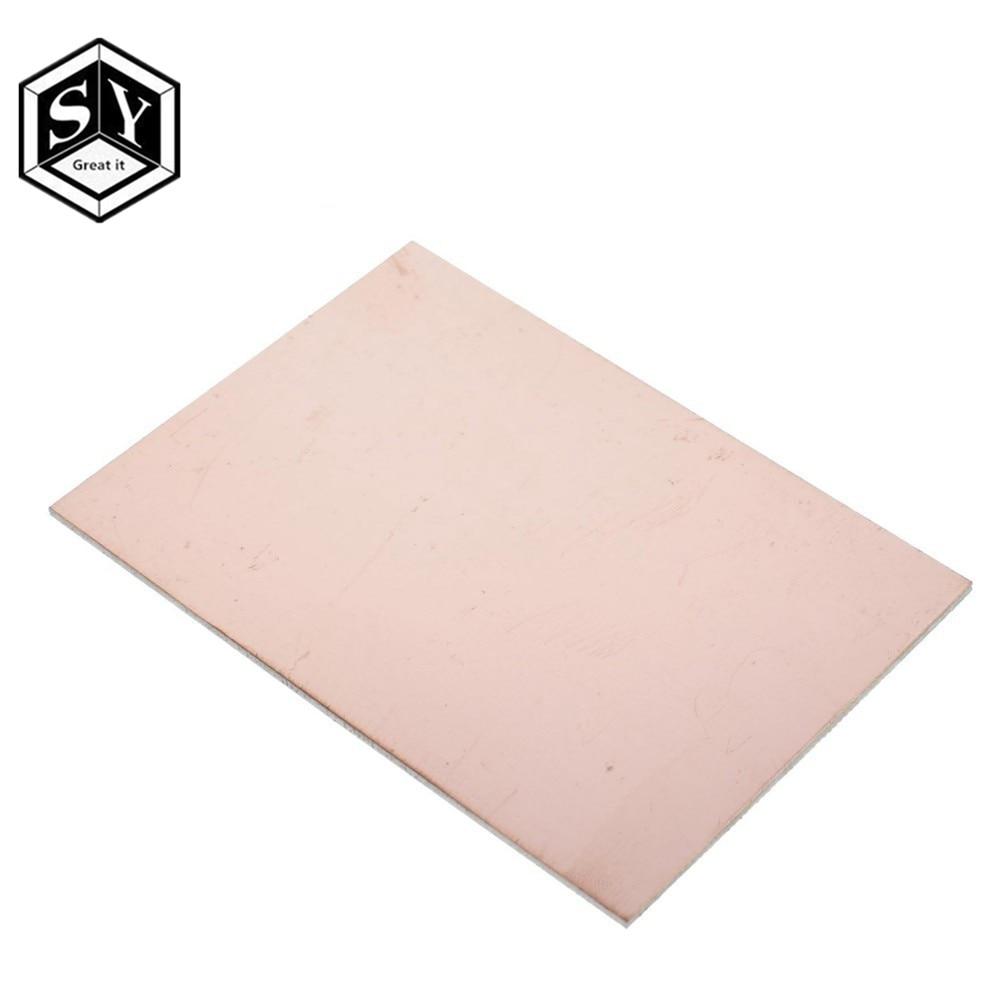 1 шт. Fr4 Pcb 7x10 см 7*10 односторонняя медная плакированная пластина, Diy Pcb Kit, ламинат, печатная плата