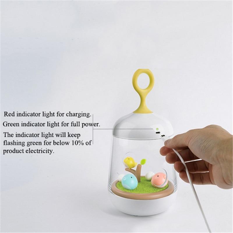 Novetly Luminaria Night Light LED laika gaismas mūzikas kaste 3 - Nakts gaismas - Foto 5