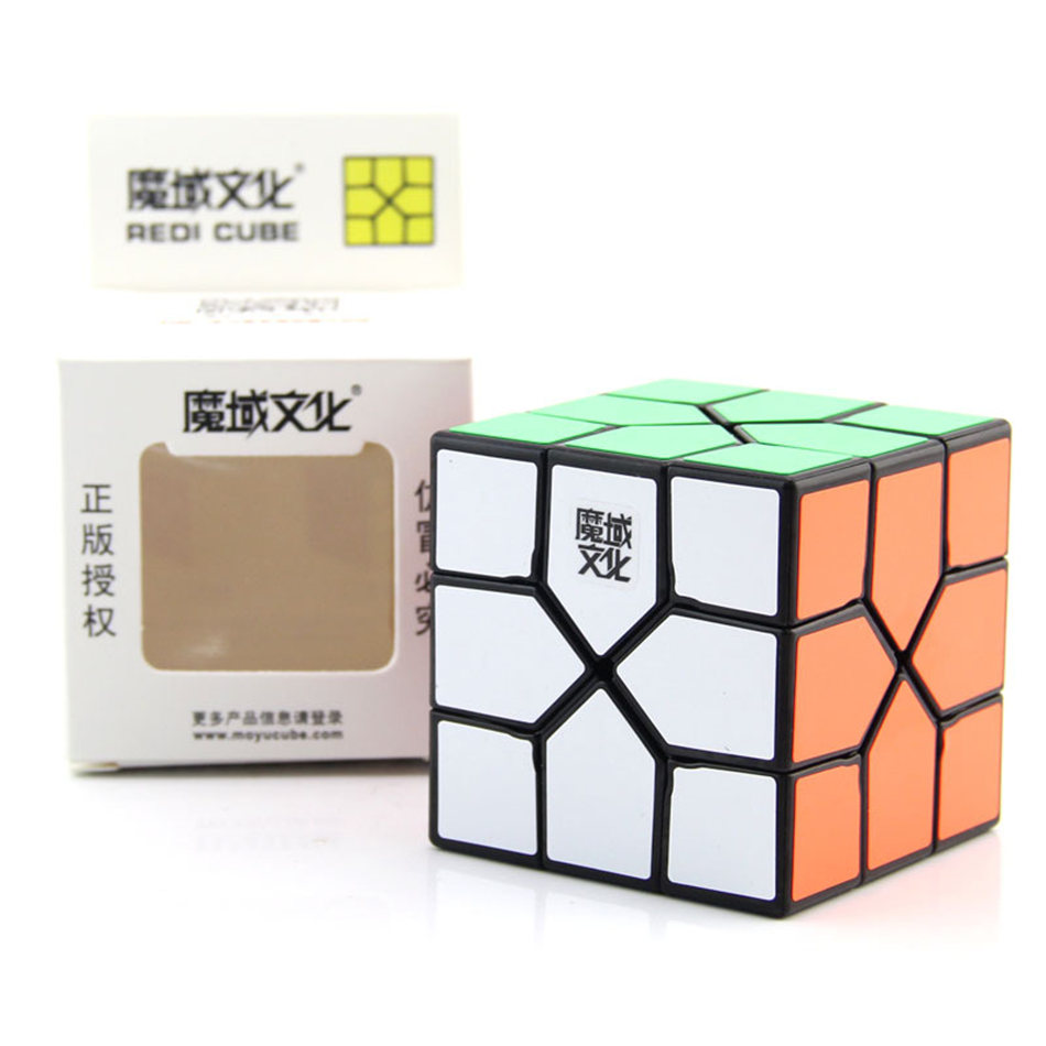 Moyu REDI Cube 3x3 Magic Cube 3Layers  Skew Speed Cube Professional Puzzle Toys For Children Kids Gift Toy