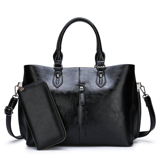 Genuine Leather Large Handbags  1