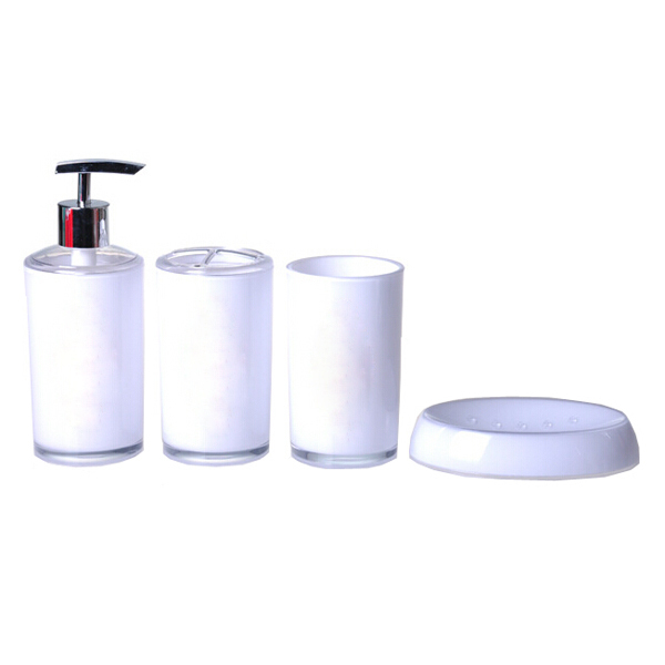 Online get cheap purple bathroom accessories aliexpress for Cheap bathroom sets
