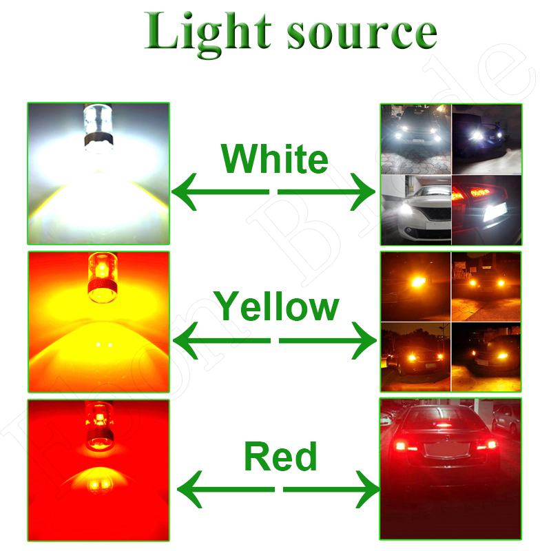 Image 5 - 2Pcs 1156 BA15S P21W 7506 Car LED Light XBD 30W Reverse Brake Stop Bulb Turn Signal Lamp Auto Styling 12V 24V DC White Red Amber-in Signal Lamp from Automobiles & Motorcycles
