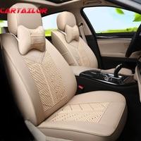 Cartailor из искусственной кожи сиденья набор для Chrysler Grand Voyager автомобиля Чехлы для сидений мотоциклов автомобили Салонные аксессуары авто Под