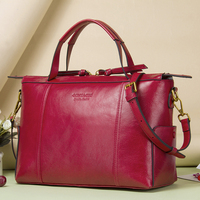 Contact's Women Practical Bag Handbags Brand Designer Office Bag Organized Women Leather Handbags Functional Beautiful Purse