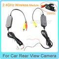 2.4G SEM FIO adaptador Do Módulo para Carro Reversa Rear View Camera Cam de backup Monitor de Conexão Sem Fio tipo de Universo instalar Fácil