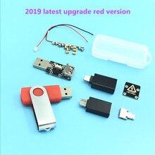 Son yükseltilmiş USB killer V3.0 U Disk Killer minyatür yüksek gerilim atım jeneratörü USB Killer aksesuarları komple
